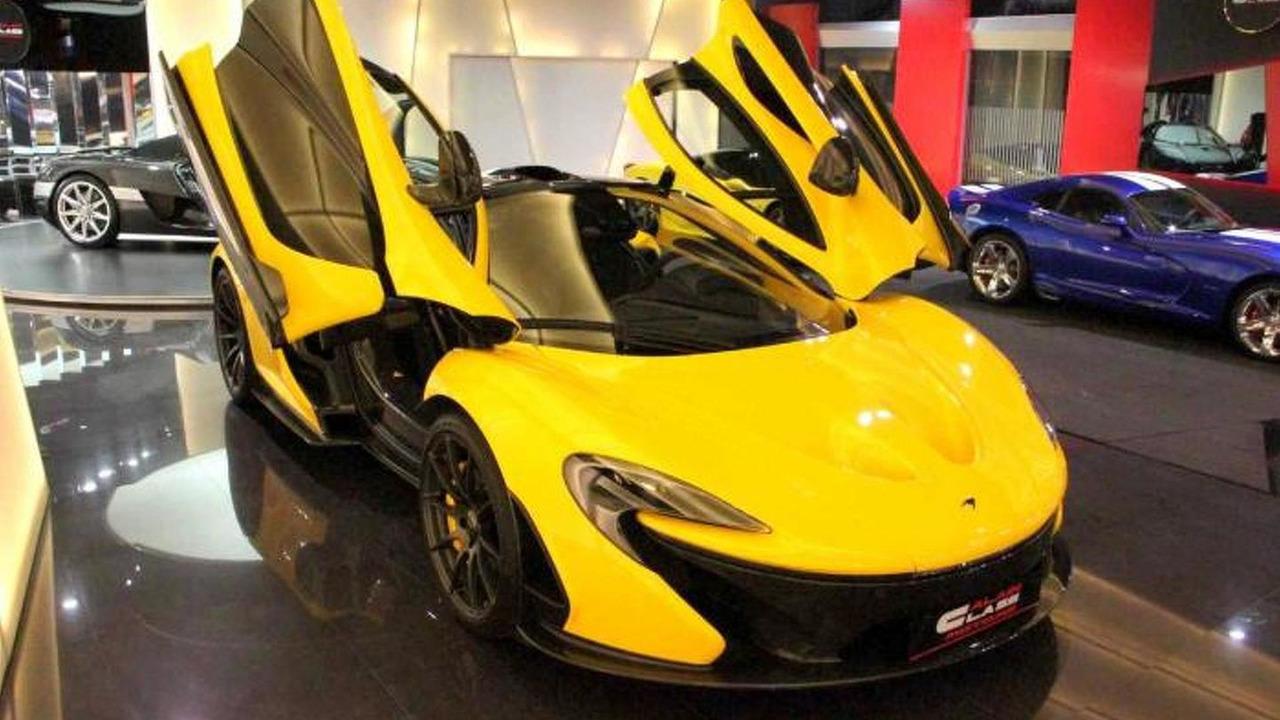 McLaren P1 at Al Ain Class Motors