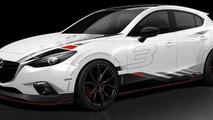 Mazda3 concept for SEMA 28.10.2013