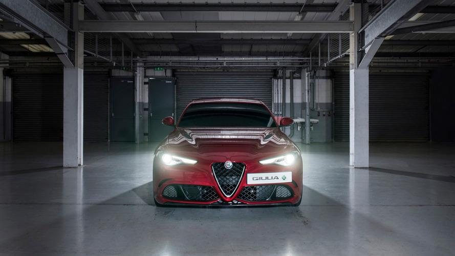 Un temps canon en Alfa Romeo Giulia...à l'aveugle !