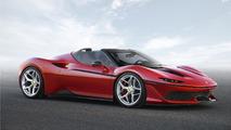 Ferrari J50 - Découvrez la nouvelle série limitée signée du cheval cabré !