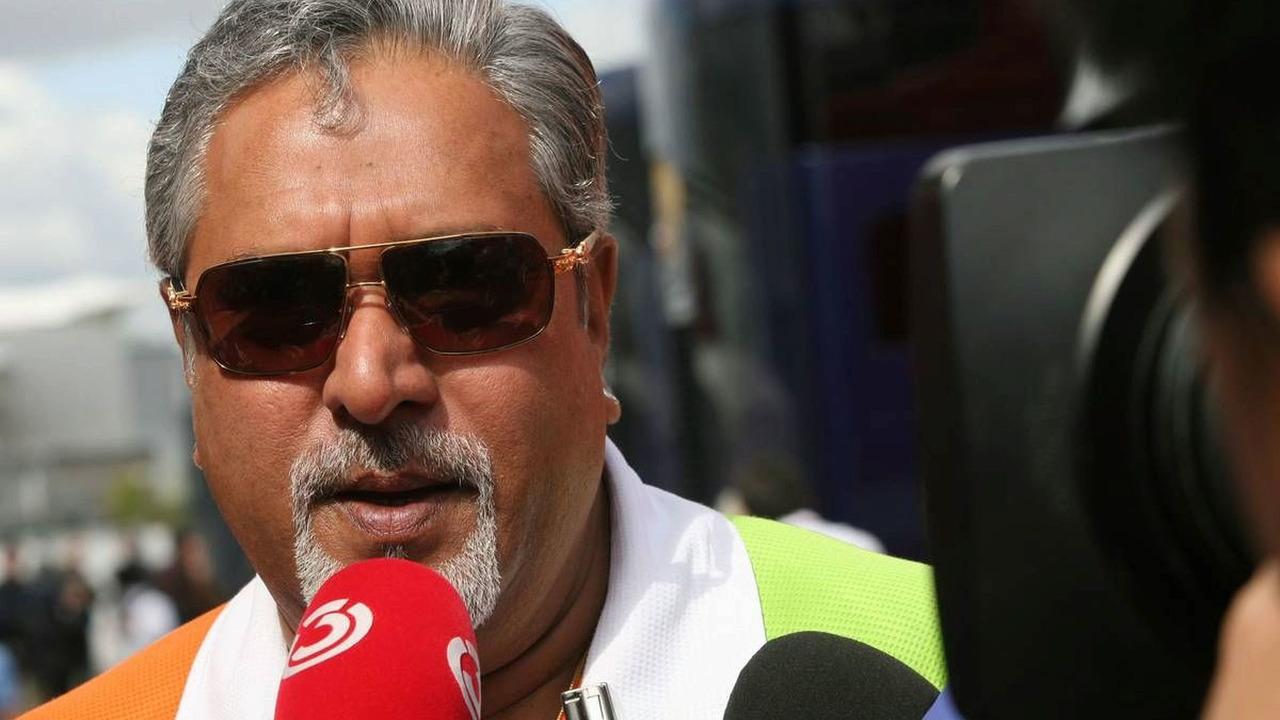 19.06.2009 Silverstone, England, Vijay Mallya (IND) Force India F1 Team Owner - Formula 1 World Championship, Rd 8, British Grand Prix