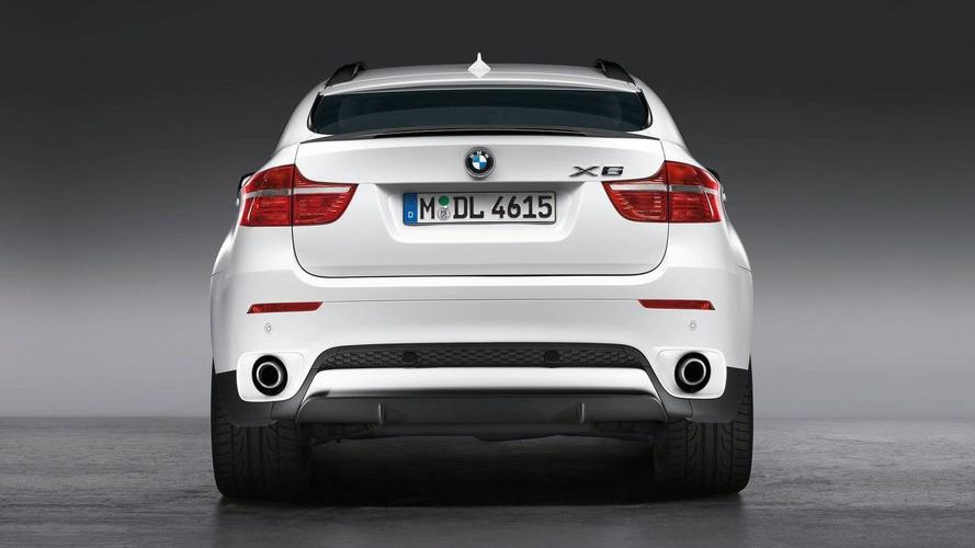 BMW X6 Performance Power Kit and Aero Accessories Announced - Geneva Debut