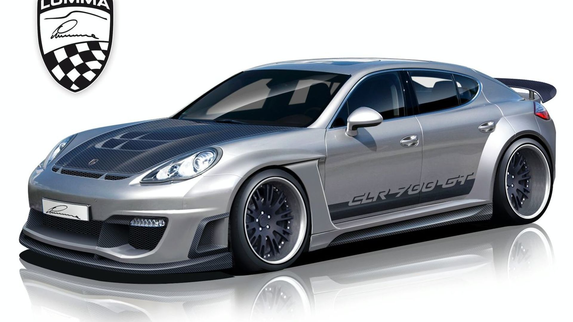 Lumma Design Panamera CLR 700GT Design Sketches Surface
