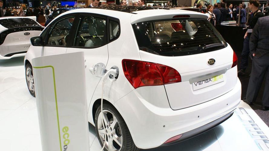 Kia Venga EV Concept Plugs-In for Geneva