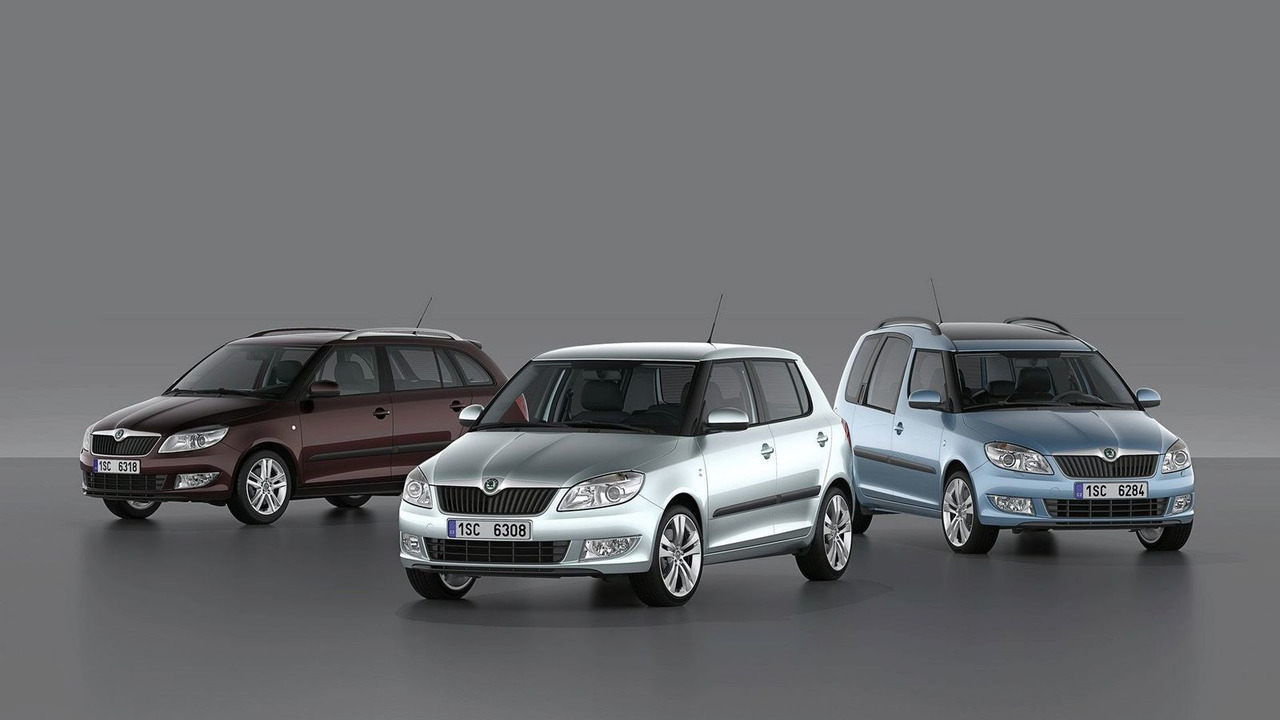 Skoda Fabia and Roomster Facelifts first photos - 24.02.2010