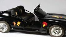 Michael Jackson's black Dodge Viper mini-car with The Simpsons decorations