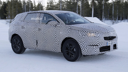 2017 Opel Grandland X spied as a Peugeot 3008 in disguise