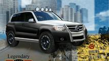 Mercedes-Benz Previews Four Tuned GLK SUVs for SEMA 2008