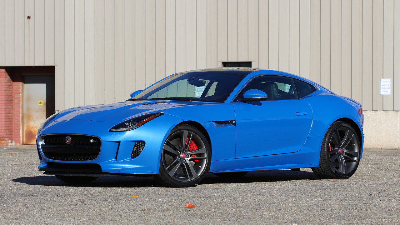 2017 Jaguar Ftype Coupeon 2017 Porsche 718 Cayman Engine