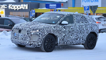 Jaguar E-Pace spied covering up in camo for cold-weather tests