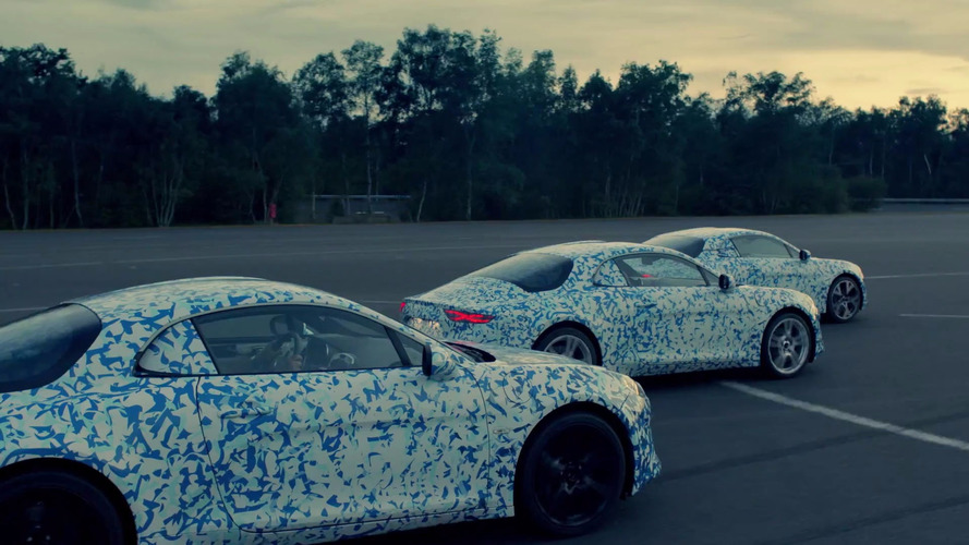 Alpine A120 teased in first official video