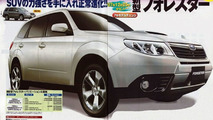Subaru 2009 Forester Scans Surface