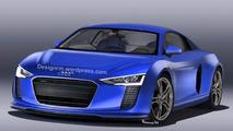 2015 Audi R8 rendering / RM Design