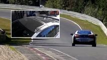 BMW i8 Spyder spy shots
