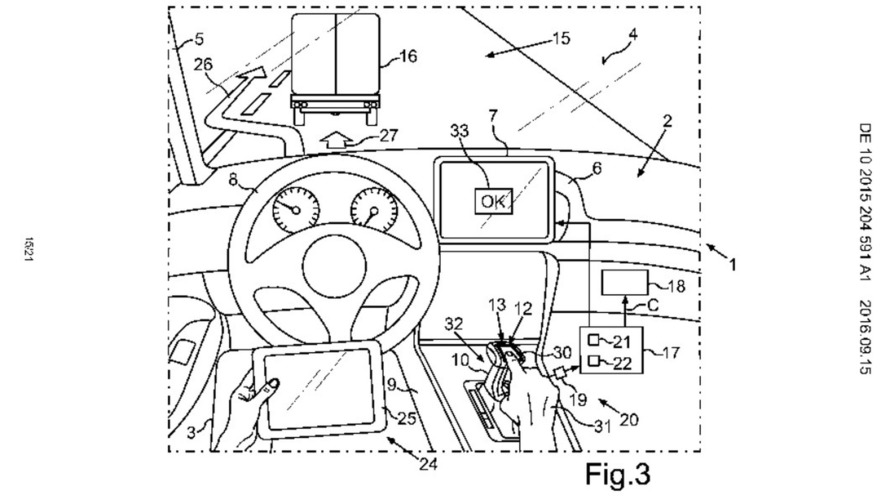 VW patents self-driving tech with simultaneous manual control from driver