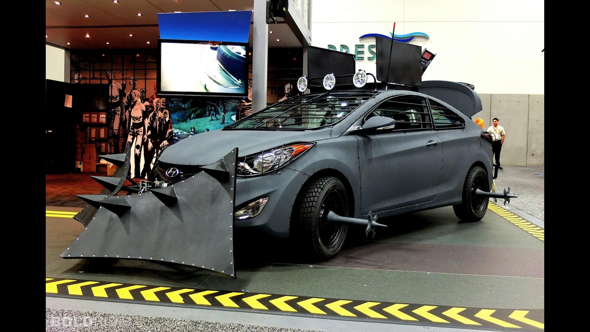 Hyundai Elantra Coupe Zombie Survival Machine