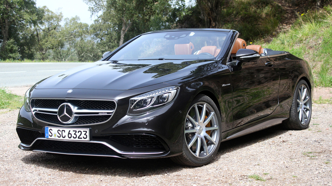 First drive 2017 mercedes amg s63 cabriolet for Mercedes benz cabriolet 2017