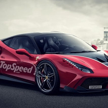 2017 Ferrari 488 GTB Scuderia Rendering Looks Mighty Fine