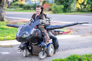 Kickstarter Project Aims to Turn Wheelchairs into Amazing Halloween Costumes