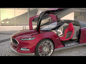 2011 Ford Evos Concept Door Functionality