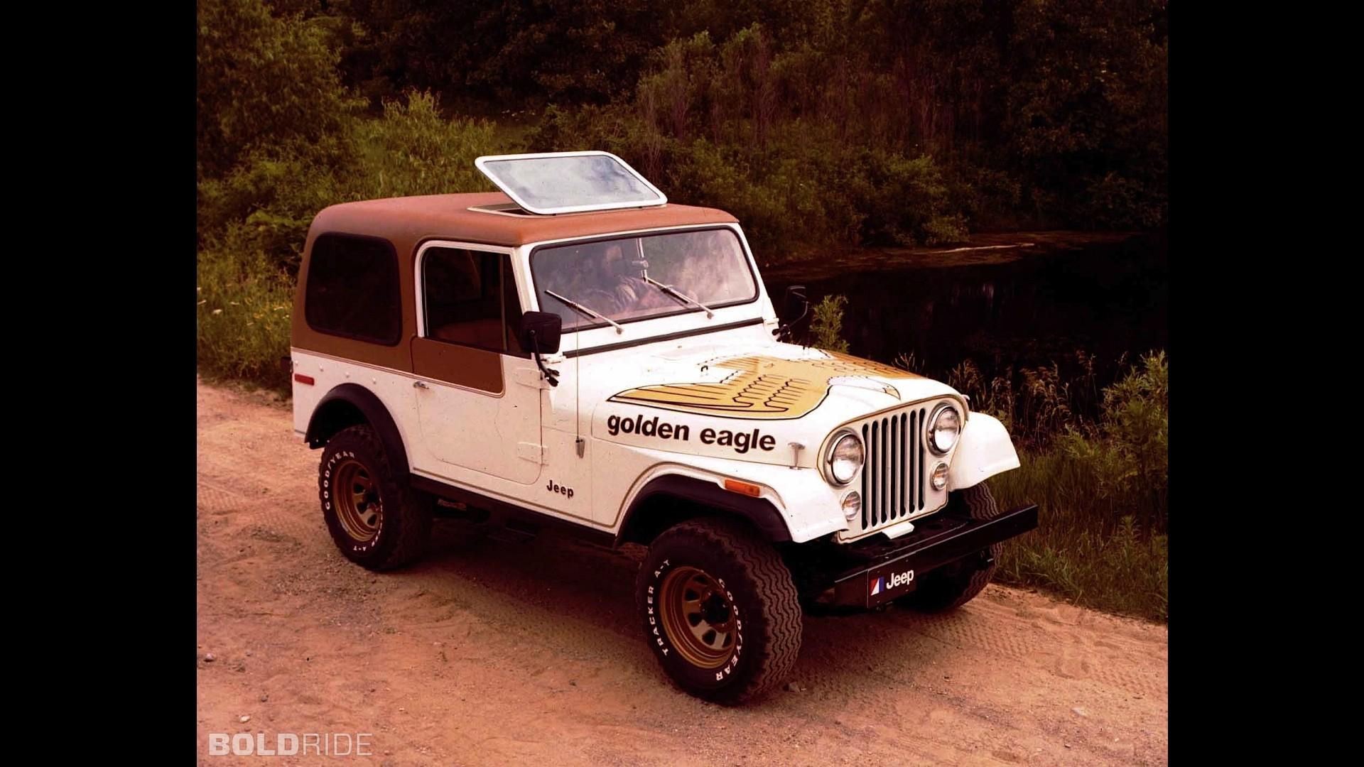 Jeep CJ-7 Golden Eagle