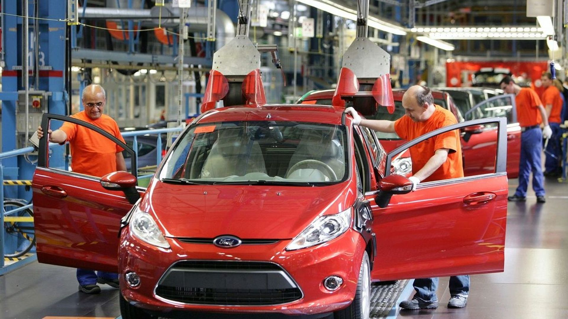 All-New Ford Fiesta Production Commences