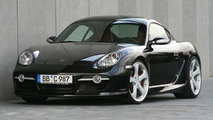 TechArt Porsche Cayman S Engine Tuning