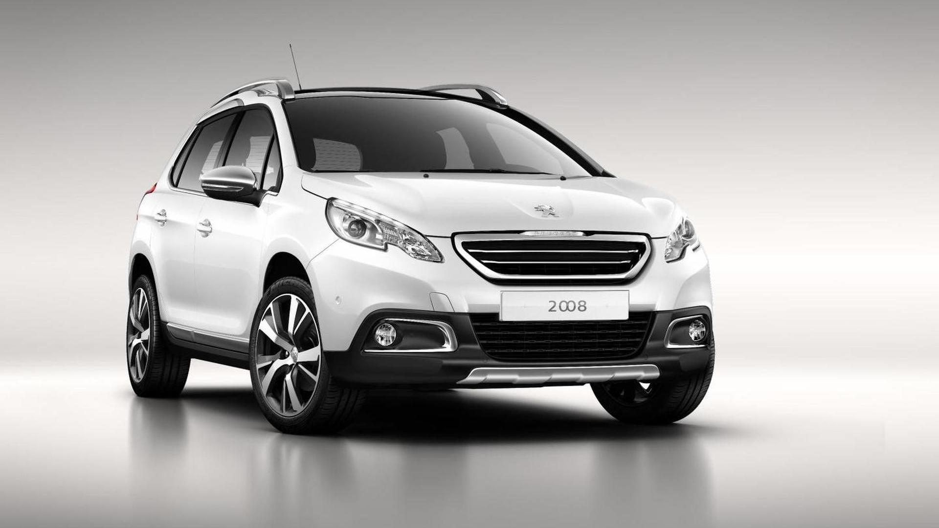 Peugeot 2008 officially revealed