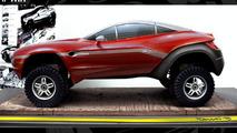 Local Motors Rally Fighter renderings