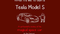 Cartoon review: What it's like to own a Tesla Model S?