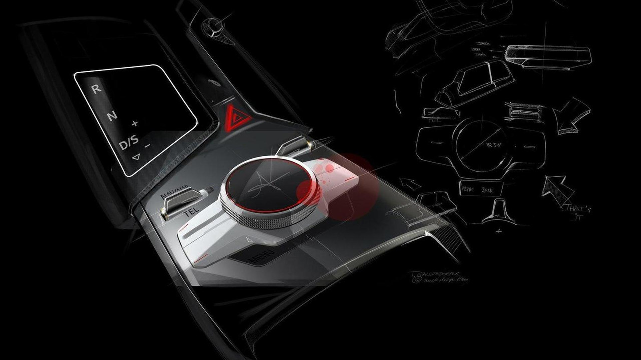 Audi Sport Quattro Concept design sketches and illustrations
