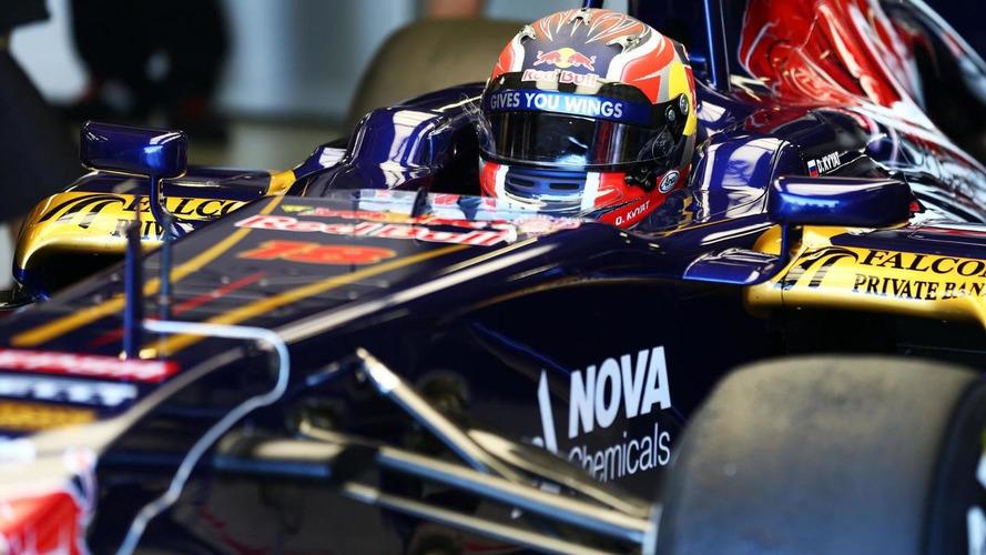 Kvyat qualifies for F1 super licence