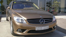 Mercedes S-Class with CL-Class front end conversion
