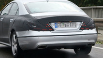 More 2011 Mercedes CLS Spy Photos Without Body Armour
