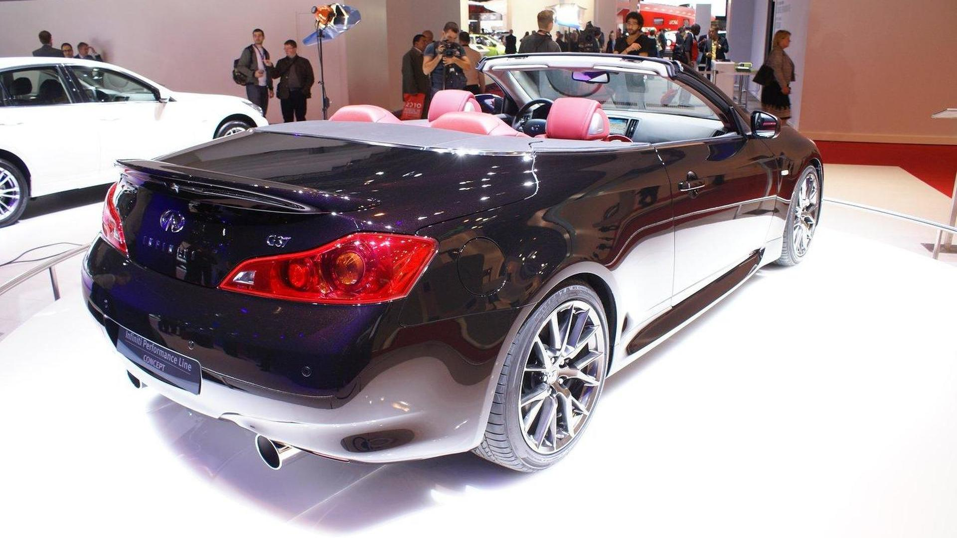 Infiniti IPL G Convertible Concept in Paris