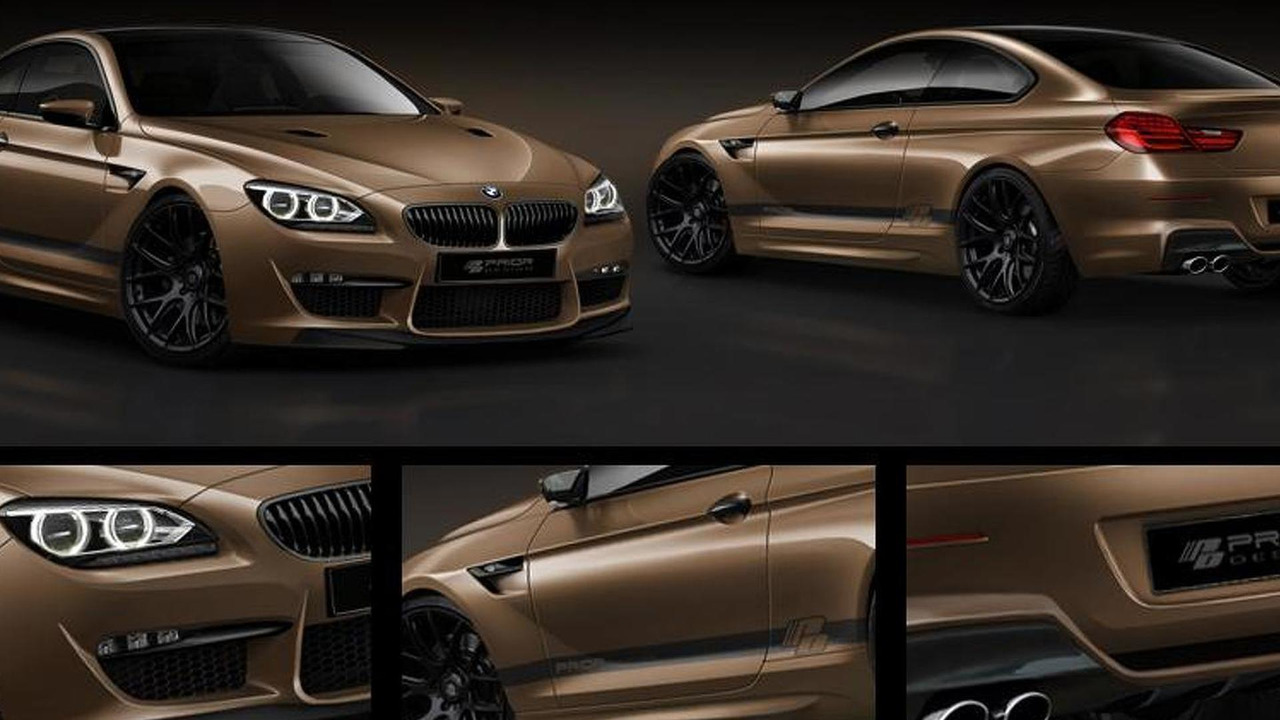 Prior Design BMW 6-Series Coupe F12 body kit preview collage, 905, 21.03.2011
