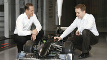 Schumacher confirms plan to stay in F1 until 2012