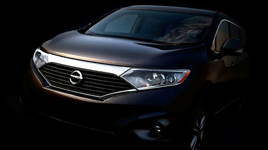 All-New Nissan Quest Teased - Arrives Early 2011