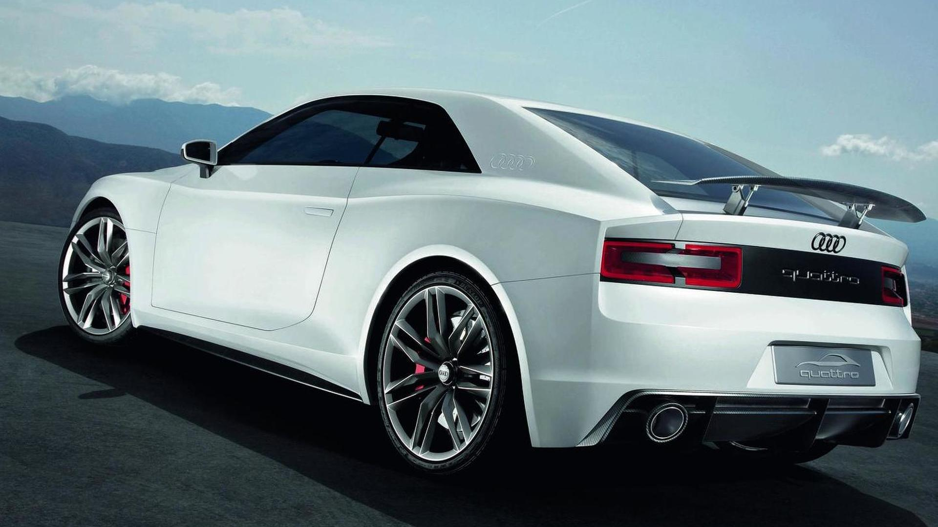 Audi Quattro concept headed for production - report