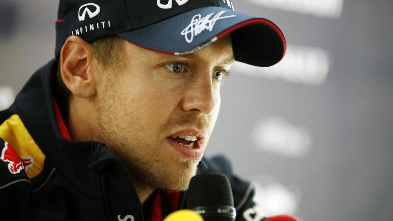 Sebastian Vettel (GER) Red Bull Racing