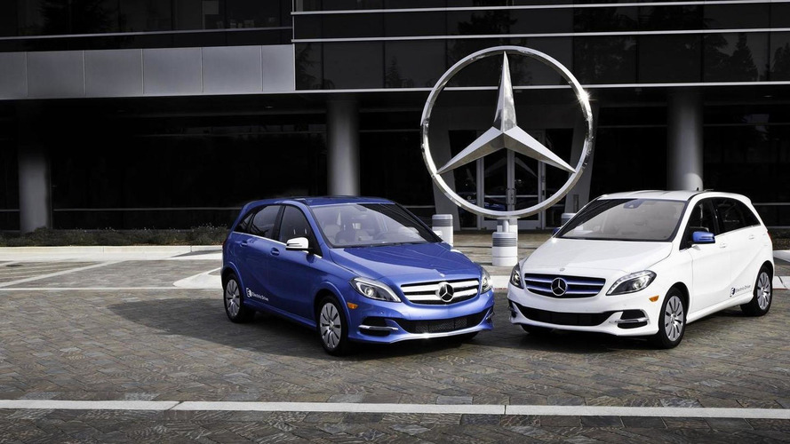 Mercedes B-Class Electric Drive pricing announced, will battle the BMW i3