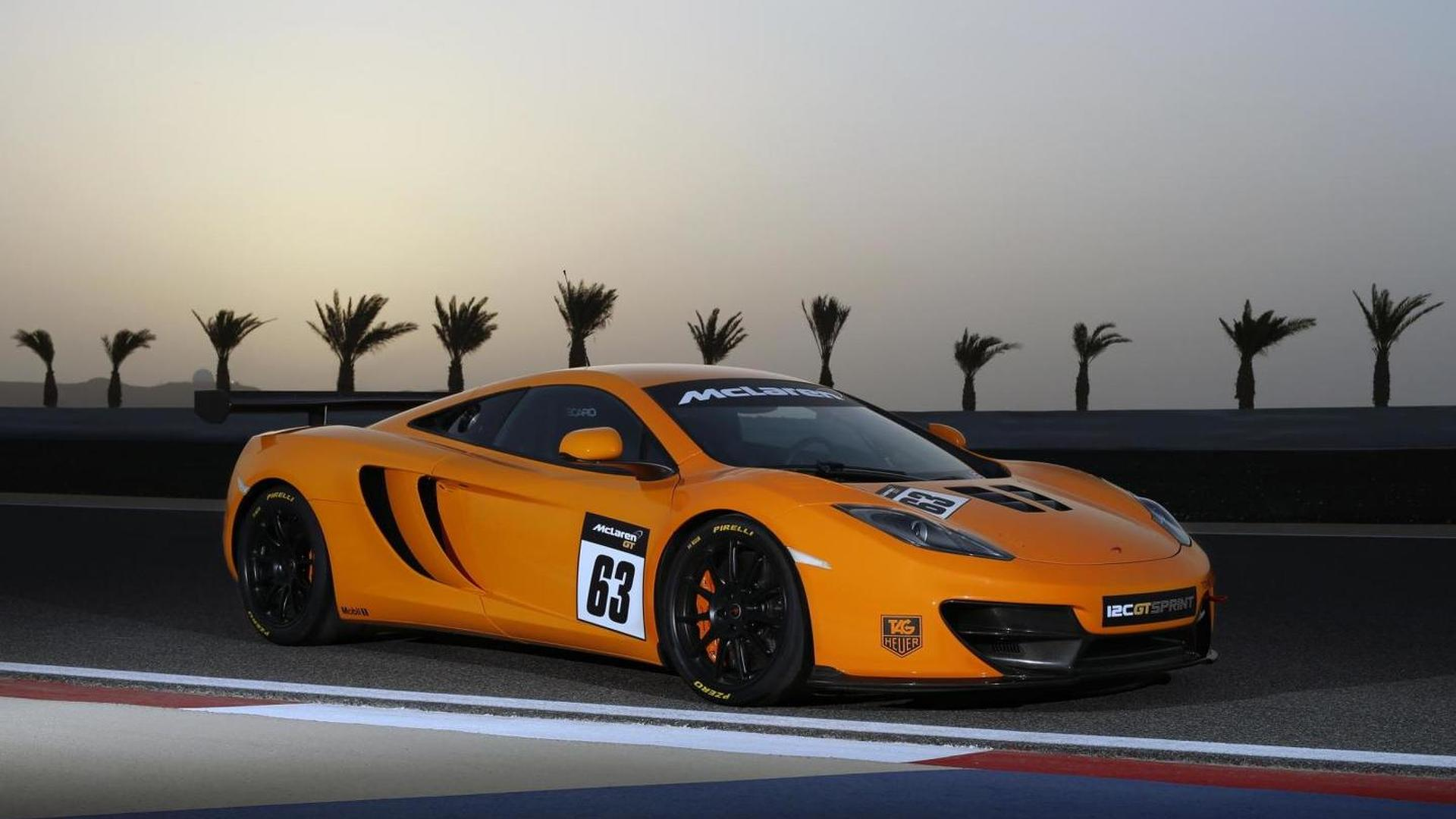 McLaren 12C GT Sprint gets priced & detailed