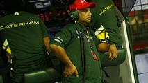 Fernandes distances himself from Caterham team