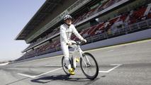 Smart ebike and Nico Rosberg 02.3.2012