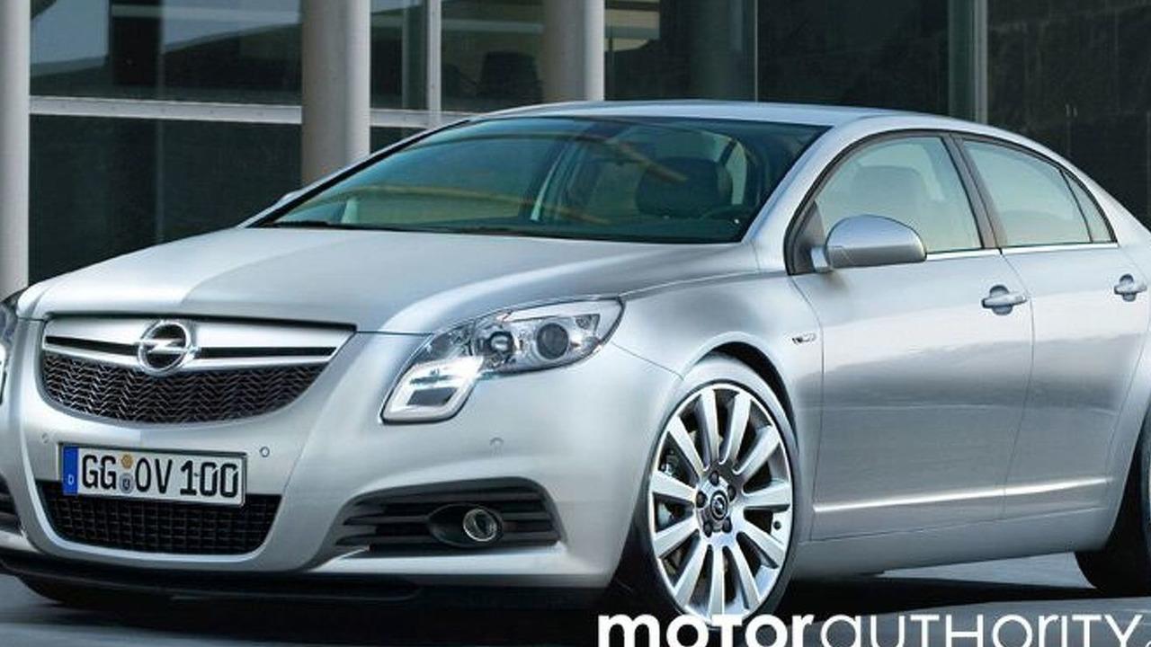 2009 Opel Vectra artist rendering