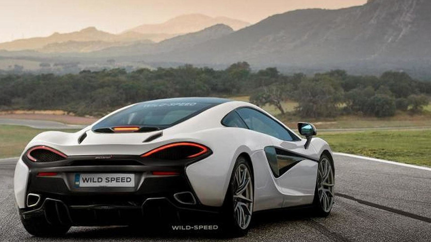 McLaren 570S speculatively rendered based on spy shots