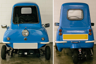 You Won't Believe the Asking Price of this Teeny, Tiny Peel P50