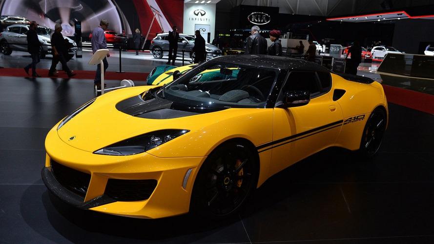 Lotus Evora Sport 410 adds power, slashes weight for Geneva