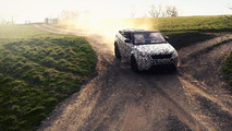 Range Rover Evoque Cabrio goes off-road in latest teaser video, debuts next month
