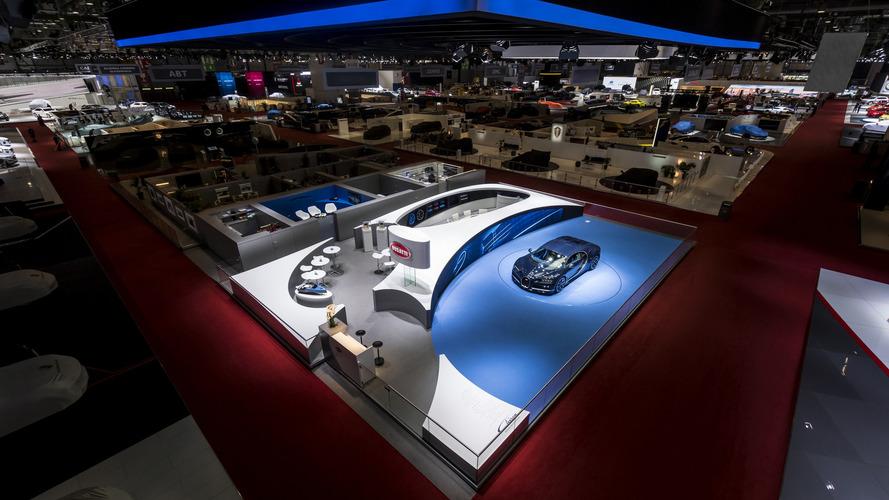 Le stand Bugatti désigné comme le plus beau du Salon de Genève